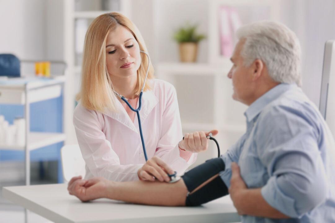 Vertikal Helse N2 569112433 lege pasient hjerte