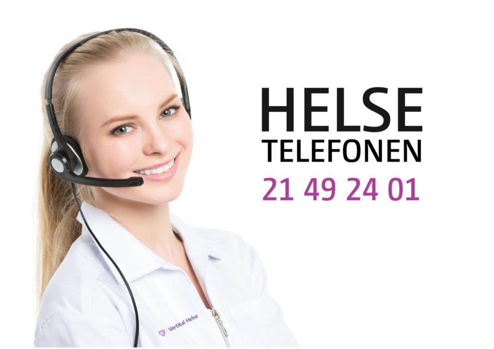 Vertikal Helse Helsetelefonen 2019